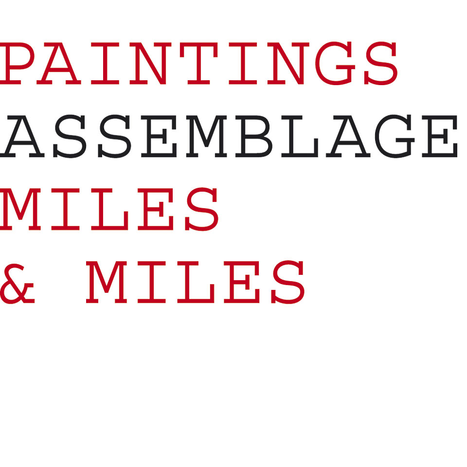 Assemblage Paintings - Miles and Miles