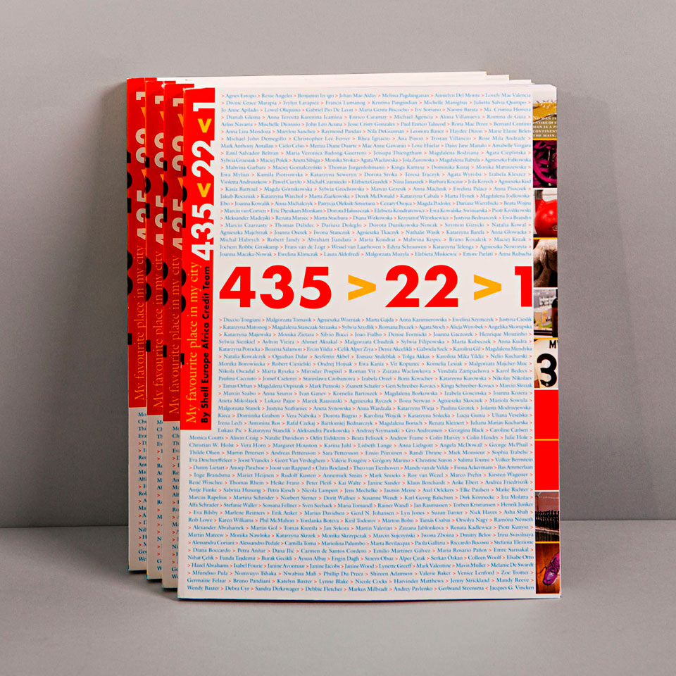 Cover for Project 435>22>1: My favourite place in my city - Project concept, coordination & graphic design Erik Cox