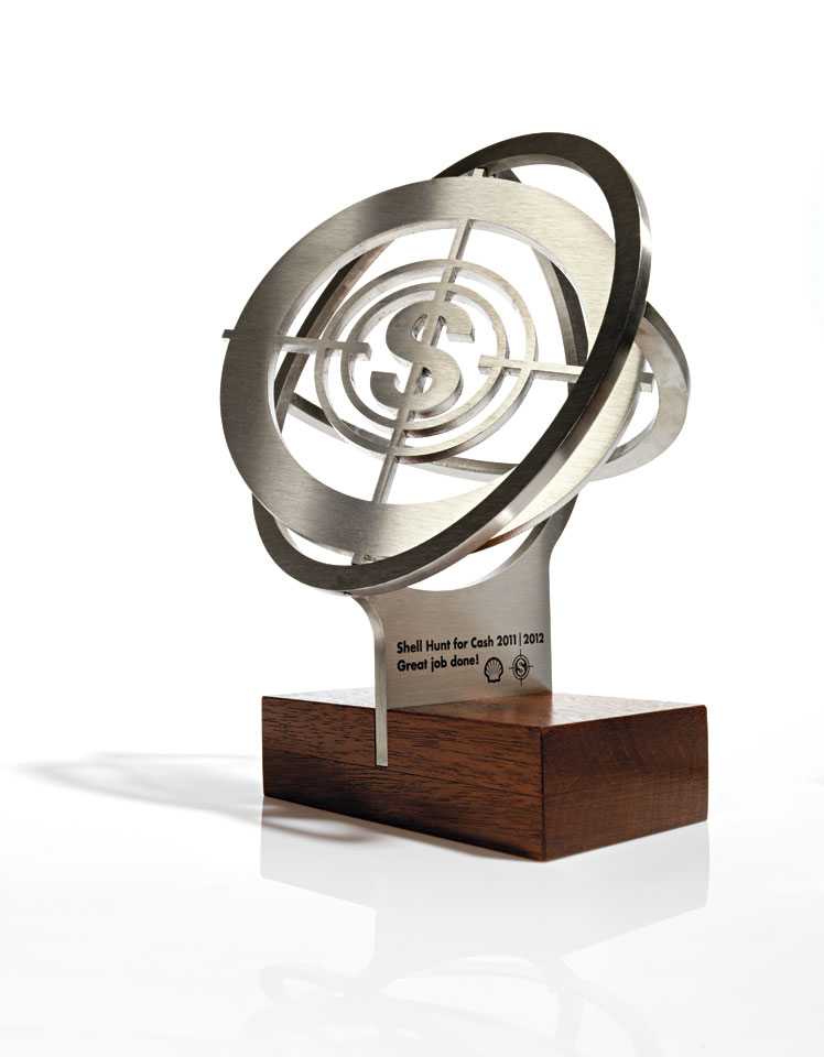 Shell H4$ Trophy 2011-2012 - Designed and produced in a limited edition of 12 by Erik Cox