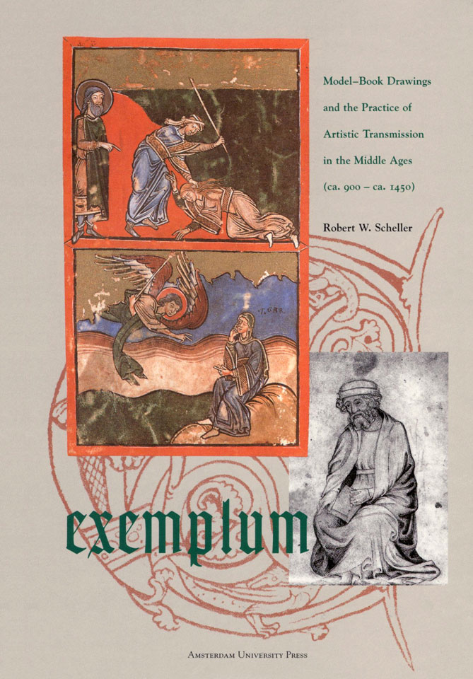 Robert W. Scheller: 'Exemplum - Model-Book Drawings and the Practice of Artistic Transmission in the Middle Ages (ca. 900 - ca. 1450)' - Published by Amsterdam University Press - ISBN 9053561307 - Book cover design: Erik Cox